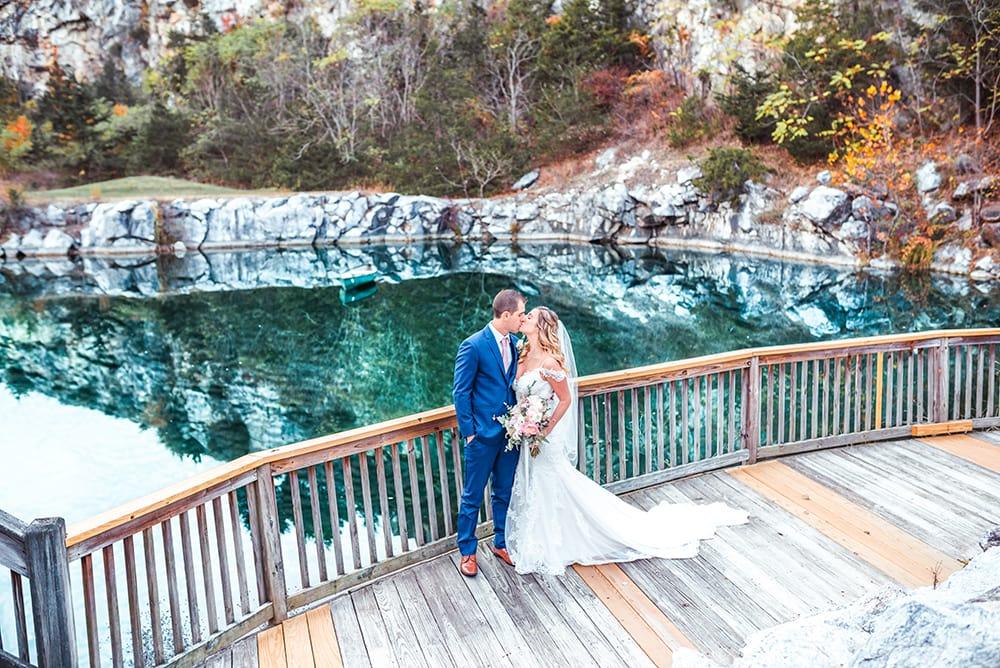 Jenna and Chris at Crystal Springs Resort
